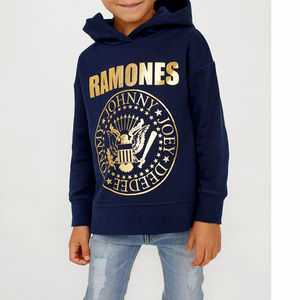 Ramones Boys Hoodie punk Official 6-8 8-10 NWT